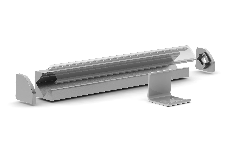 alu 45mm led profile uk led lighting. Black Bedroom Furniture Sets. Home Design Ideas