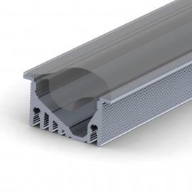 Asymmetrical LED profile