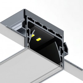 New Power Line 55 –  Recessed, Suspended or Surface Mount Linear option