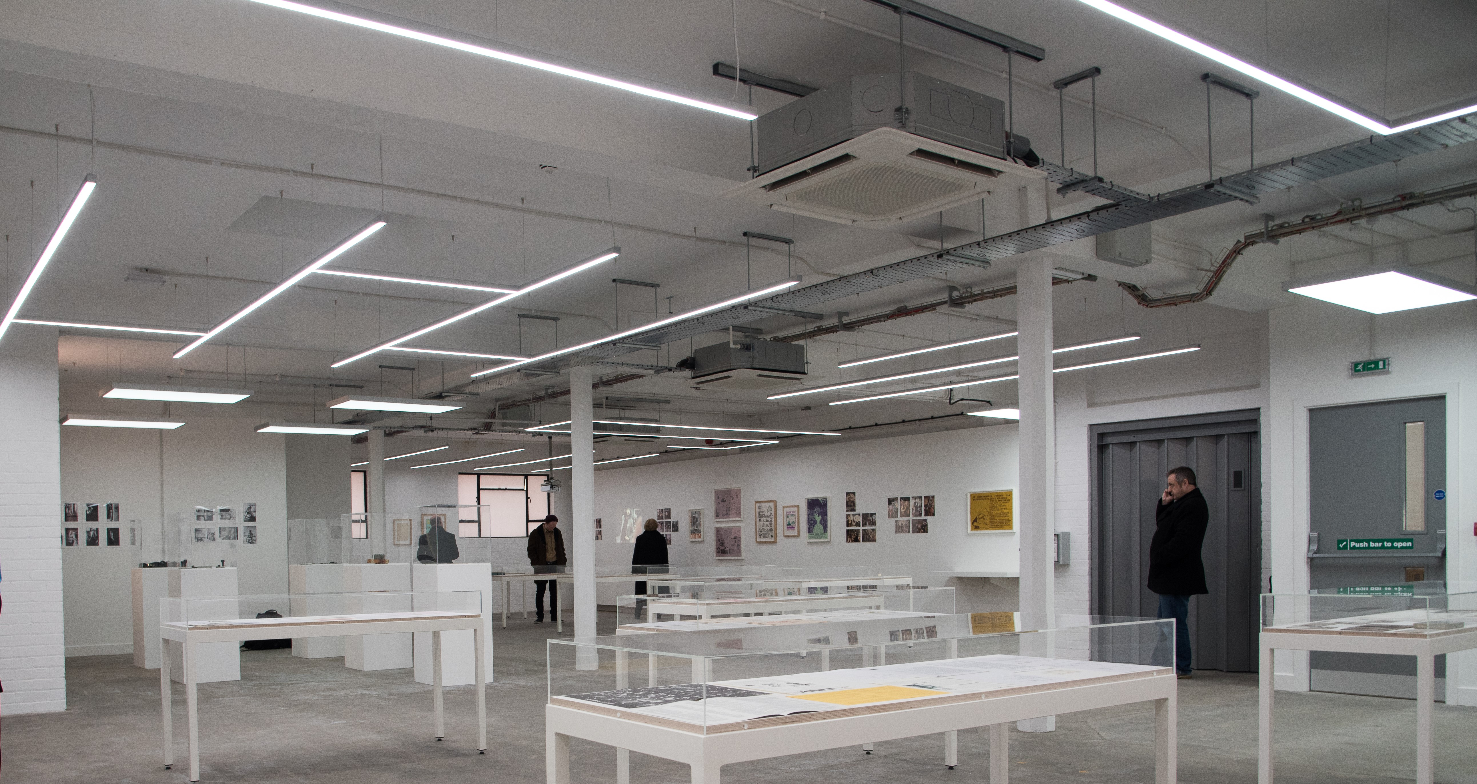 Humber Street Gallery Lighting By Uk Led