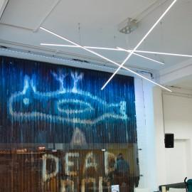 Humber Street Gallery  –  Lighting by UK LED Lighting