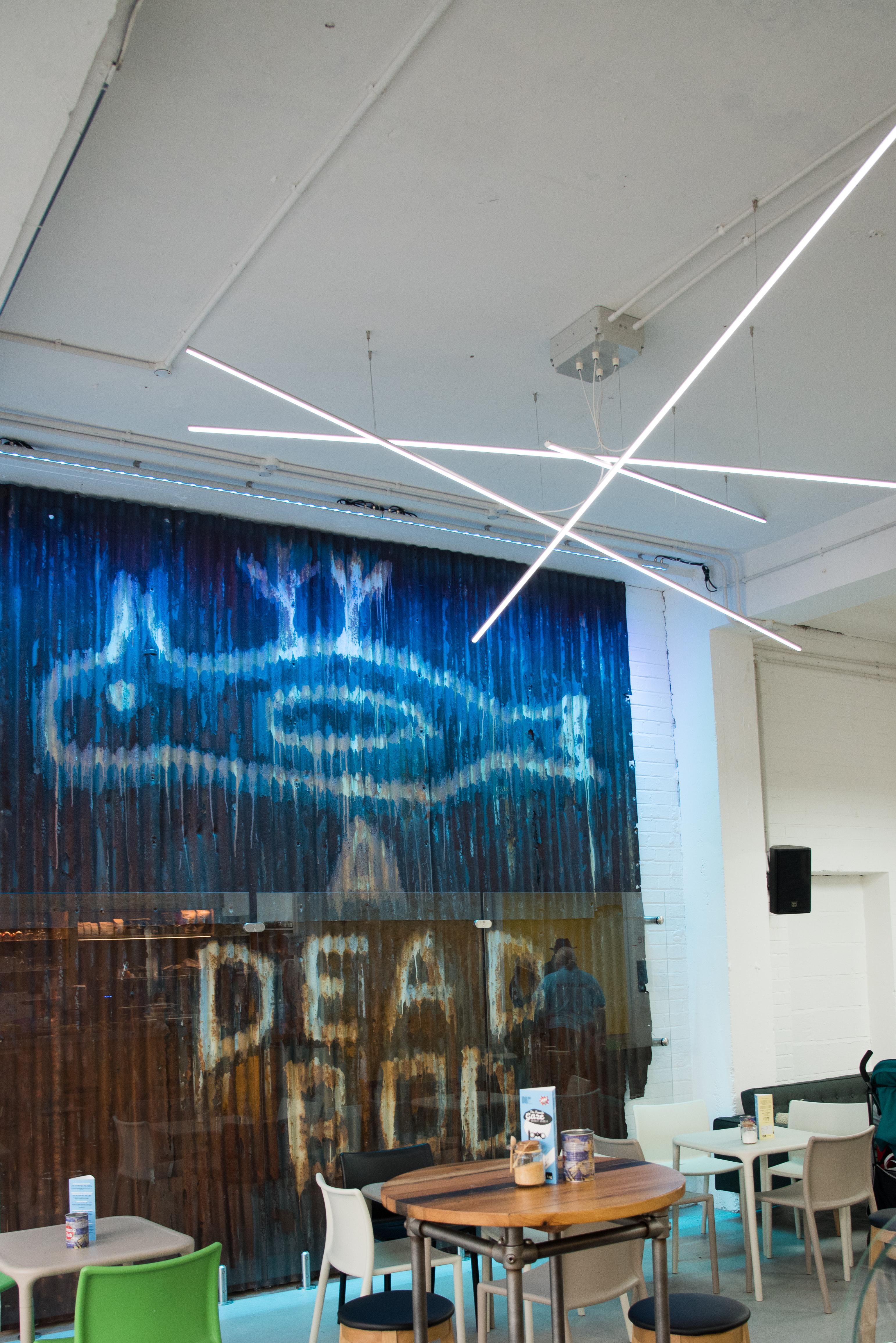 Humber Street Gallery Lighting By Uk Led Lighting Uk