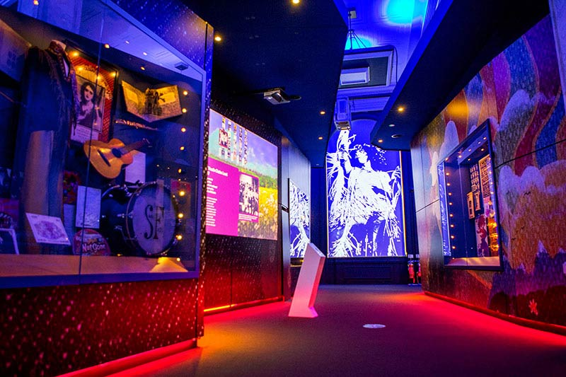 British Music Experience Liverpool Uk Led Lighting